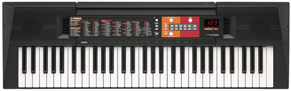 piano numerique yamaha PSR F51