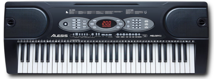 test piano numérique Alesis Melody 61