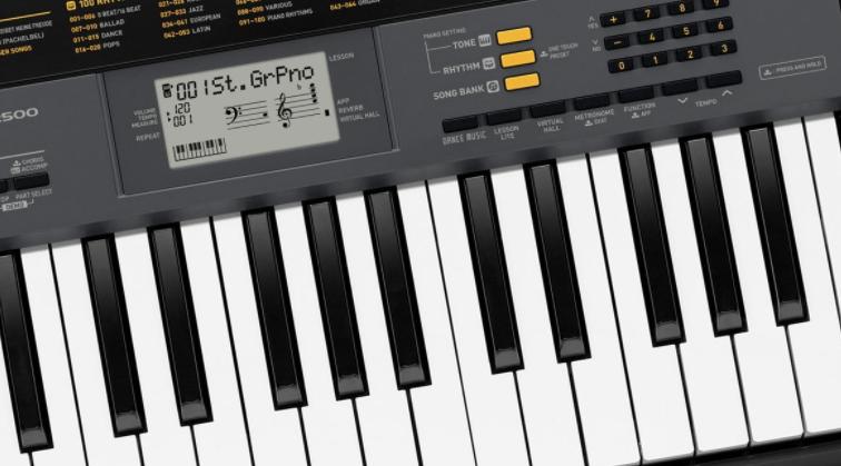 test piano numérique Casio CTK 495 2500