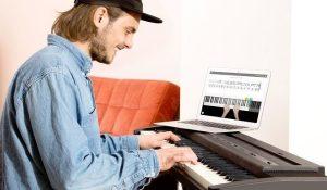 Piano virtuel, très bon moyen pour apprendre le piano en ligne