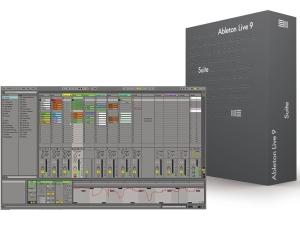 Le logiciel musique séquenceur Ableton Suite 9