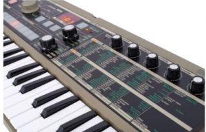 Touches du clavier Microkorg