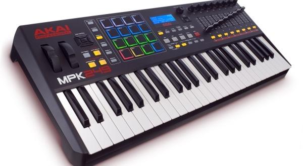 L'avis de la rédaction sur le clavier Akai MPK 249