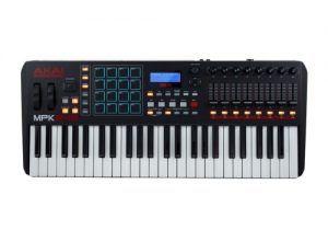 Caractéristiques du clavier Akai MPK 249