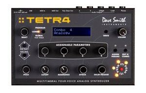 Synthétiseur Dave Smith Tetra